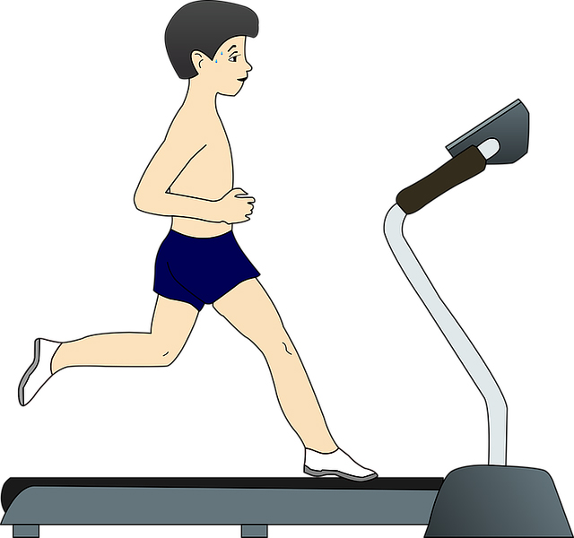 running-on-a-treadmill
